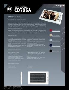 Sungale CD706A - E-reader e-Reading Hardware