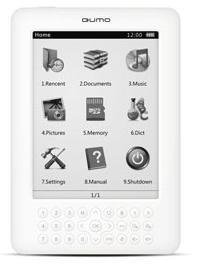 QUMO Colibri e-Reading Hardware