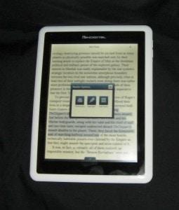 Pandigital Novel first impressions Reviews