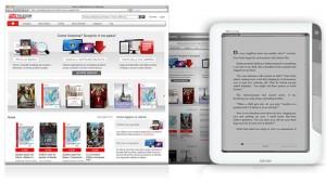 Telecom Italia unveiled their ebookstore eBookstore