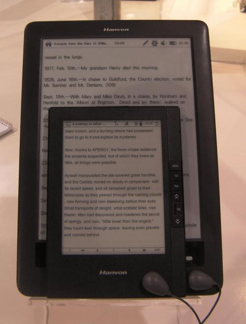 CES: Hanvon Conferences & Trade shows e-Reading Hardware