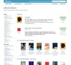 Feedbook Store now sells ebooks from Harper Collins, Simon & Schuster & Penguin eBookstore