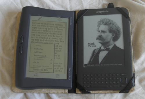 A Look at B&N's first eReader Blast from the Past e-Reading Hardware