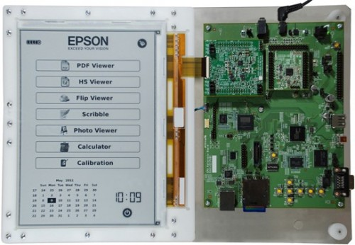 E-ink & Epson announce new hi-res 300-ppi screen e-Reading Hardware