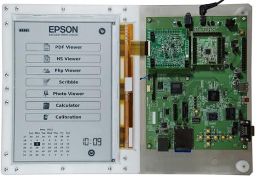E-ink & Epson announce new hi-res 300-ppi screen e-Reading Hardware