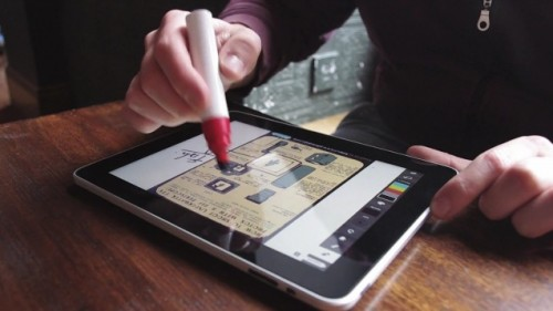 An iPad stylus for lovers of fat markers (video) Uncategorized
