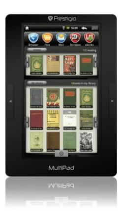 Prestigio MultiPad PMP3074B Android tablet now shipping e-Reading Hardware