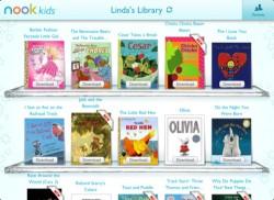 Nook Kids updated - ebookstore link gone Apple eBookstore