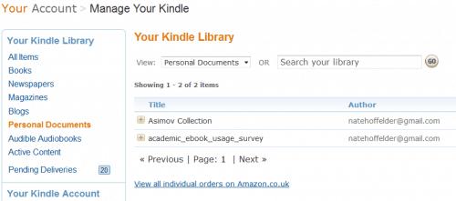 Kindle Cloud Confirmed Amazon