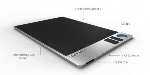 New Digital Writing Slate Coming Soon -  Inktab e-Reading Hardware