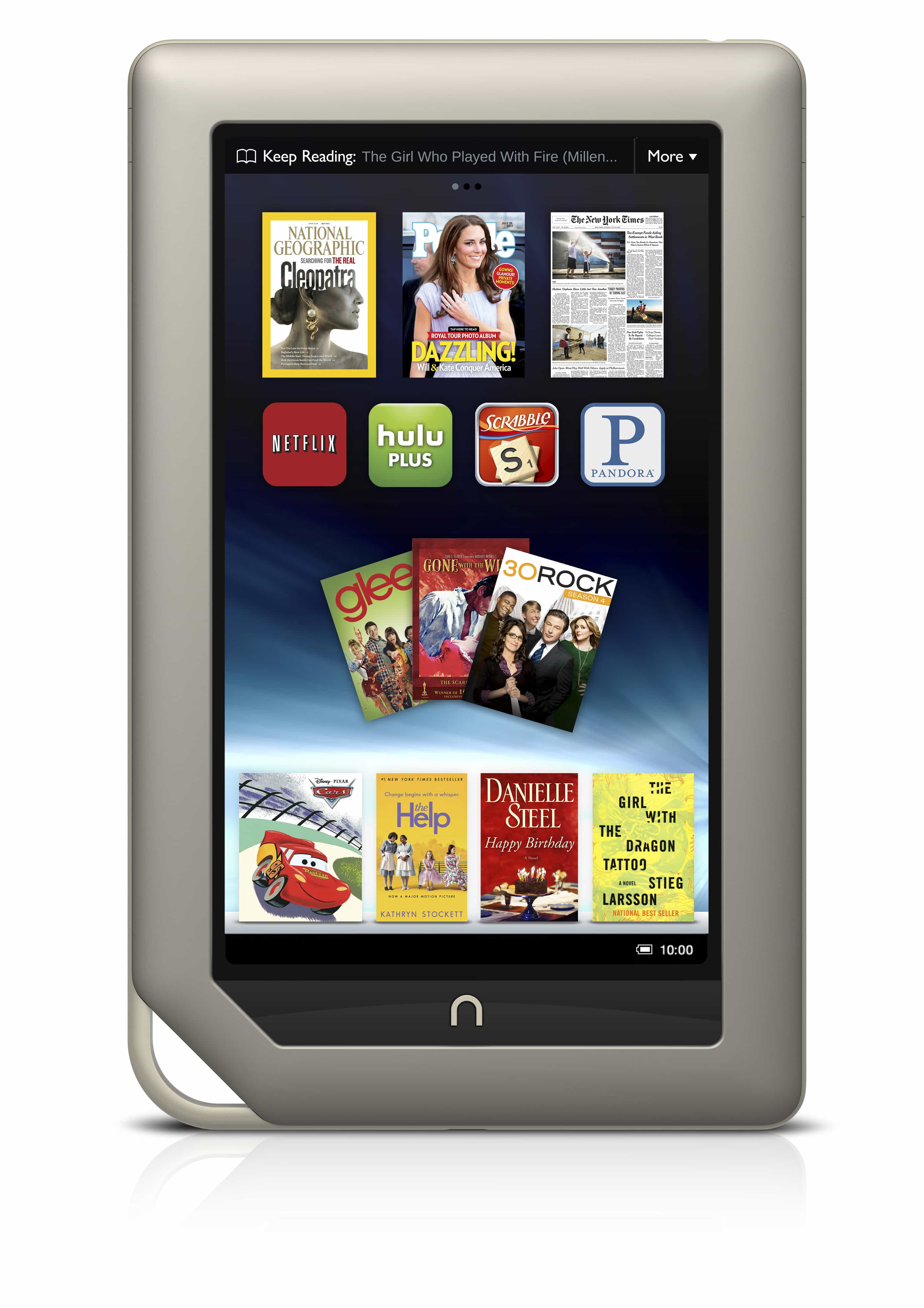 The Tablet and Me: The Nook Tablet | The Digital Reader