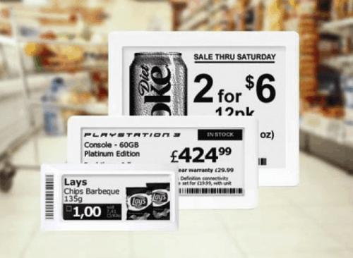 Danish Supermarket Chain To Adopt ePaper Shelf Labels e-Reading Hardware