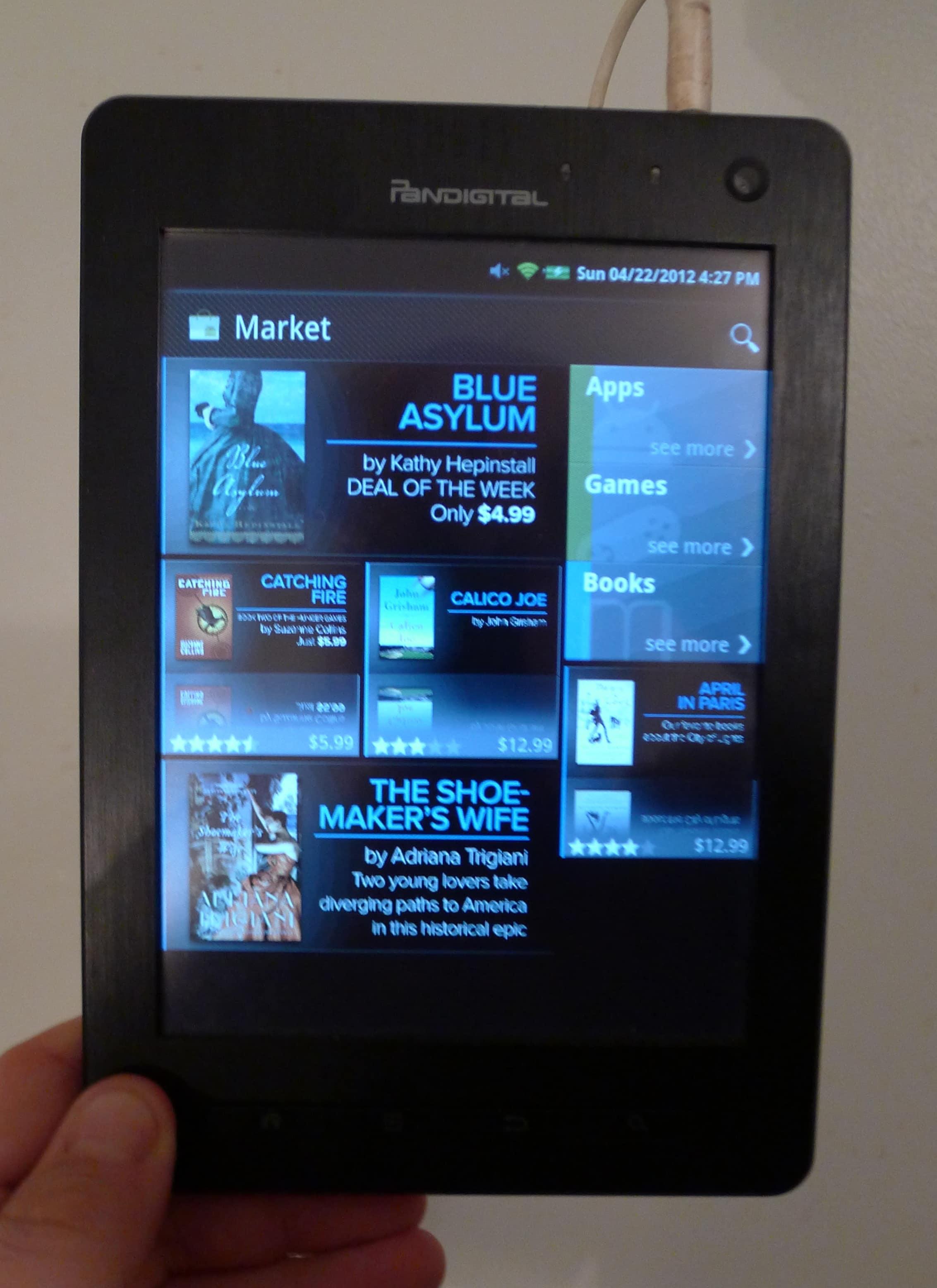 how to install android market on pandigital nova supernova the easy rh the digital reader com Pandigital Novel Precios Pandigital Novel 4GB
