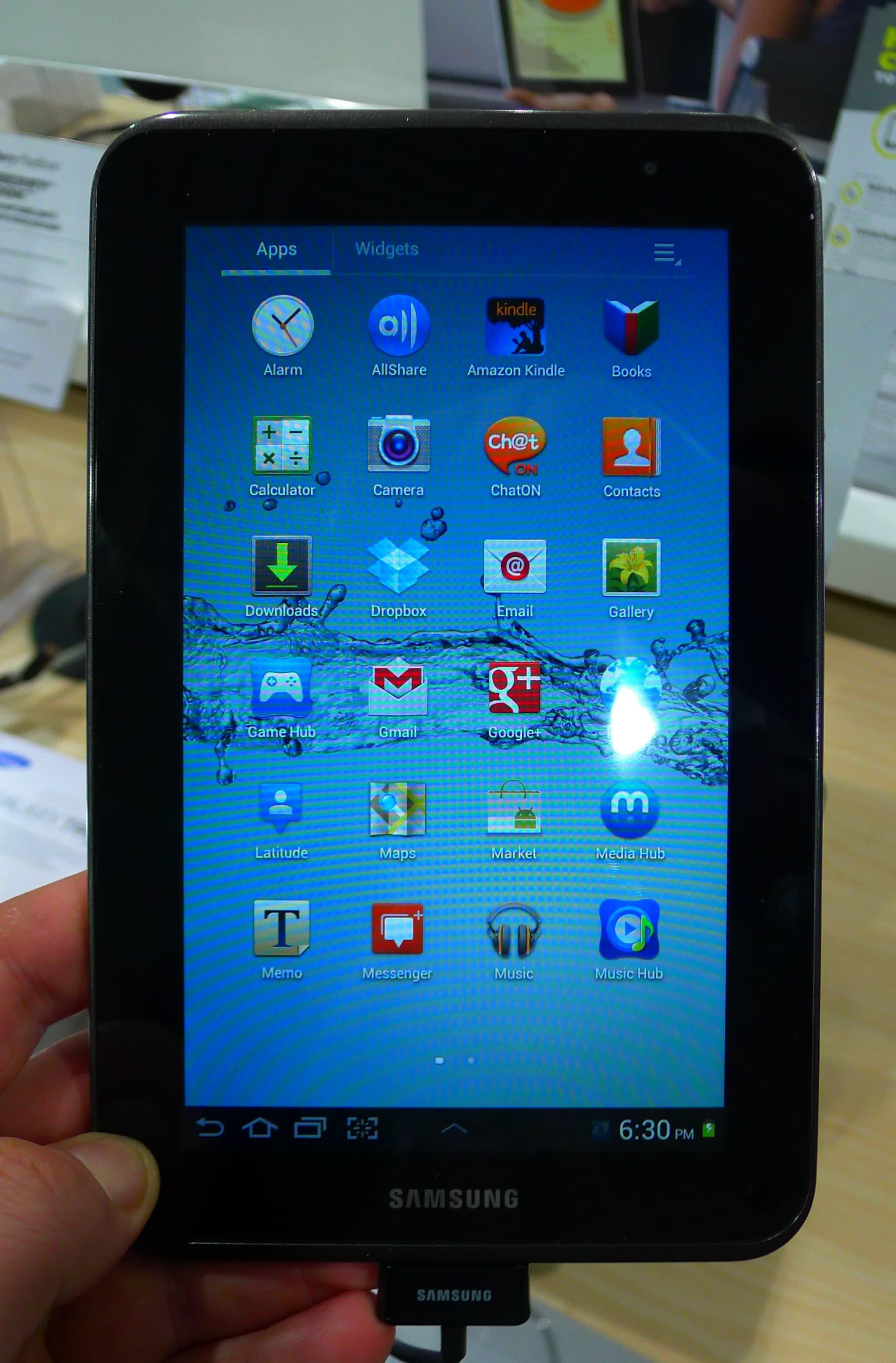 Samsung Galaxy Tab 2 7 0 Review Roundup The Digital Reader
