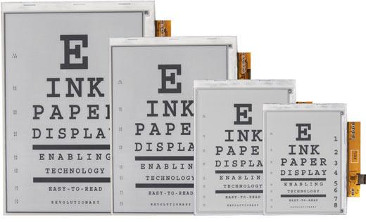 E-ink Reports Revenues Up Last Quarter e-Reading Hardware Screen Tech