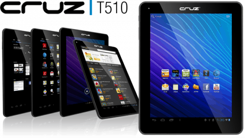 Velocity Micro Unveils the T510 Android Tablet e-Reading Hardware
