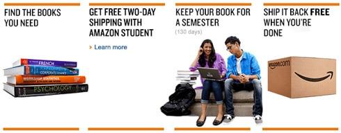 how to return textbook on amazon