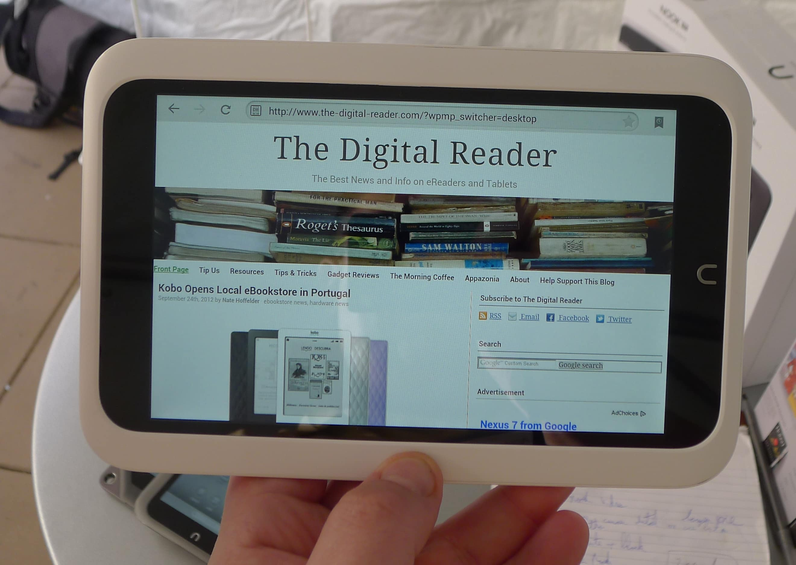 Barnes Noble Launches a Family Friendly Media Tablet Pt 1
