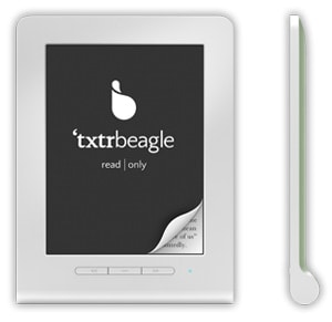 Updated: New txtr beagle eReader to Cost Less than 10 Euros (video) e-Reading Hardware