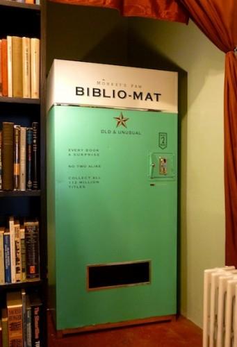 The Monkey's Paw Bookstore Launches the Biblio-mat Book Vending Machine Bookstore