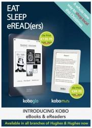 Kobo Signs New Retail Partner in Ireland - Hughes & Hughes e-Reading Hardware eBookstore