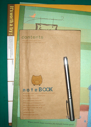 You Can Have My Notebook When You Pry it From My Cold, Dead Fingers Editorials
