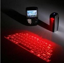 Fujitsu Makes a New Attempt at an Old Idea - Virtual Keyboards e-Reading Hardware