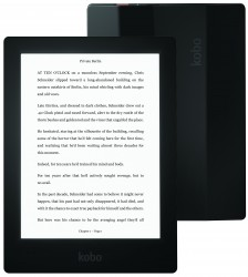 "New Kobo Aura H2O eReader Clears the FCC, Has Wifi and a 6.8"" Screen e-Reading Hardware Kobo"