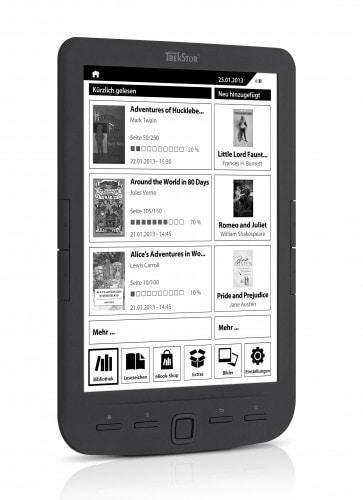 "Trekstor Launches the Pyrus Maxi 8"" eReader e-Reading Hardware"