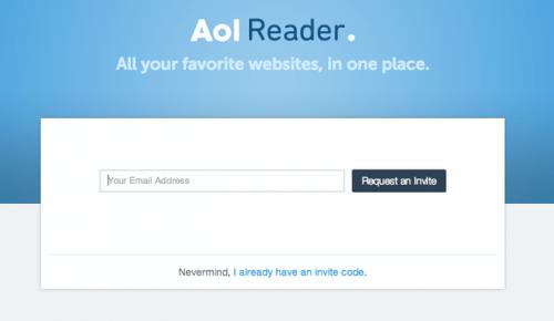 AOL Is Launching a Google Reader Replacement - Their Third Attempt at a News Reader Service Google Reader Alternatives News Reader