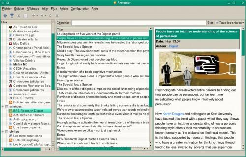 Four Google Reader Alternatives For Linux Google Reader Alternatives News Reader