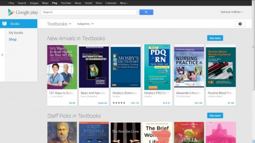 Google to Revamp, Relaunch Digital Textbooks Section in Google Play Books, Will Also Rent Them eBookstore Google Textbooks & Digital Textbooks