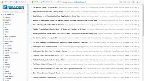 InoReader is A Feature Rich Google Reader Alternative  Google Reader Alternatives