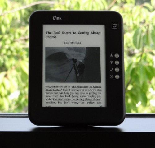 E-ink Announces New (4th-Gen) Screen Tech - Carta e-Reading Hardware Screen Tech