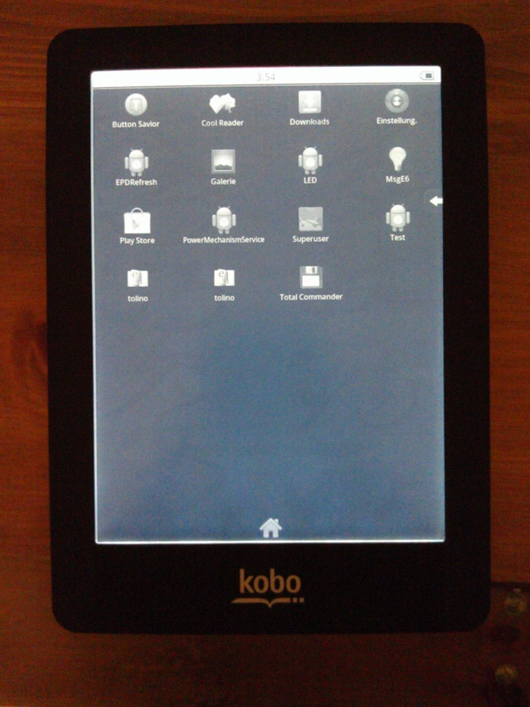 Kobo Glo Hacked (Again) - Now Runs Android e-Reading Hardware