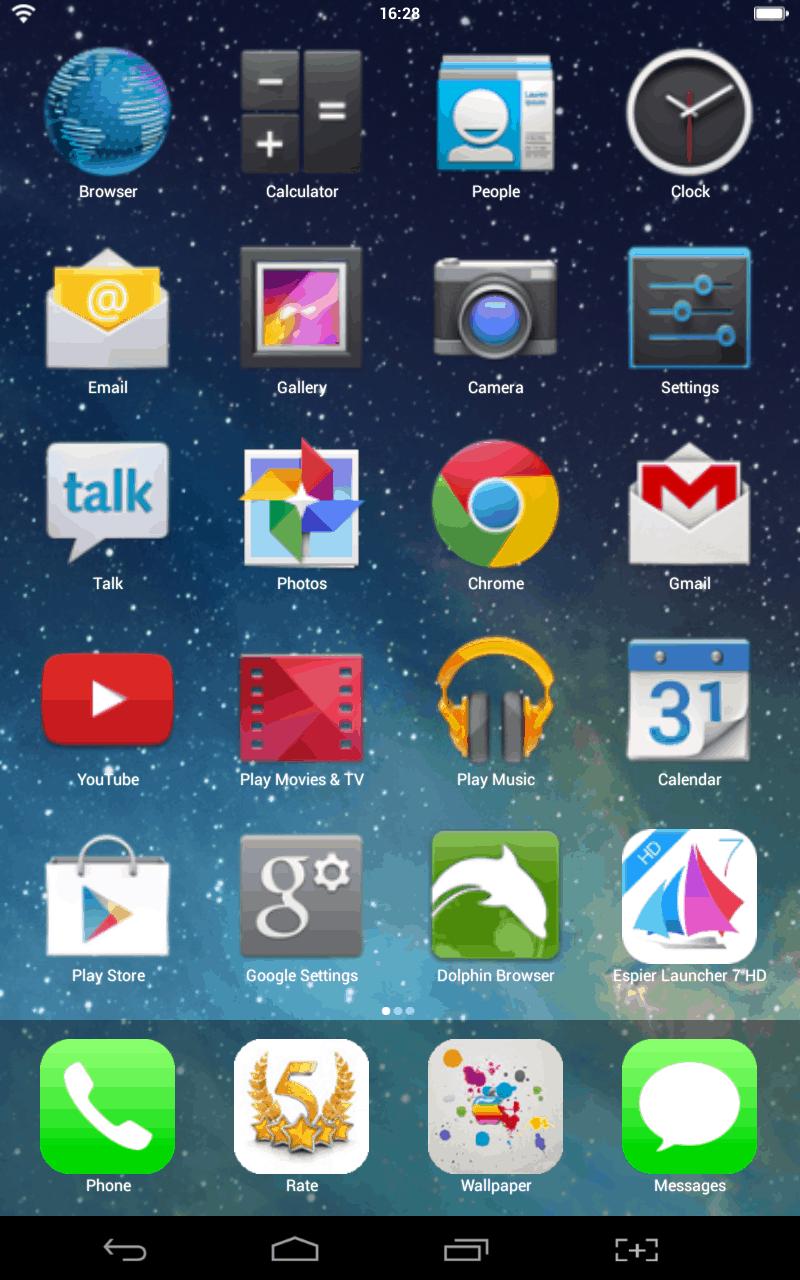 Iphone S Launcher
