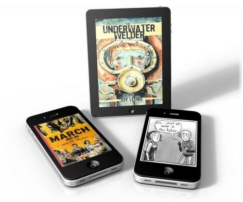 Top Shelf Comics Releases a Handful of Comics DRM-Free Comics & Digital Comics DRM eBookstore