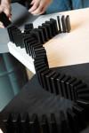 New World Record for Book Domino Chain Set in Poland