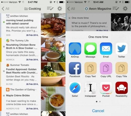 NewsBlur v4.0 Adds New Menu, Gestures, Sharing Options e-Reading Software News Reader
