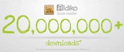 aldiko 20 million downloads