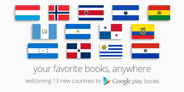Google Play Books Expands into 11 Countries in Latin America eBookstore Google Google Books