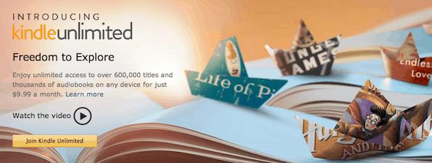 Amazon to Launch New eBook Subscription Service Called Kindle Unlimited Amazon Kindle Kindle (platform)
