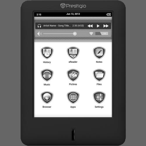 """Prestigio MultiReader 5364 Now Shipping - 6"""" E-ink Screen, Android 4.0, 113 Euros E-ink e-Reading Hardware"""