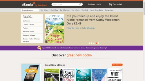 ebooks by Sainsburys