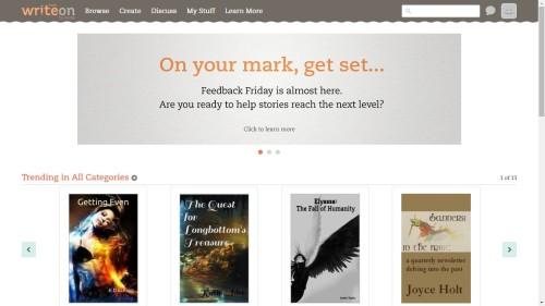 Amazon Launches a New Writing Community, Write On Amazon Social Media Writing