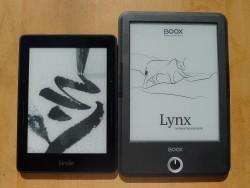 kindle voyage onyx boox t68 Lynx 1