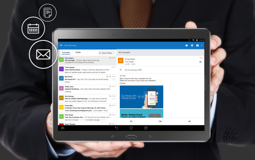 Microsoft Launches New Outlook, Office Apps for Android Microsoft Office