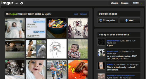Imgur Drops Pro Subscription, Offers Tools Free to All Uncategorized