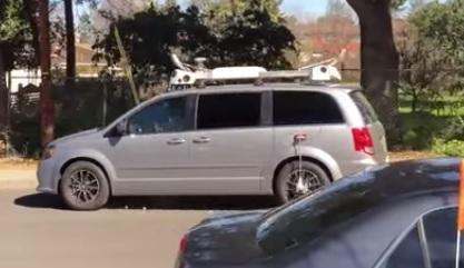 silver camera minivan palo alto 1