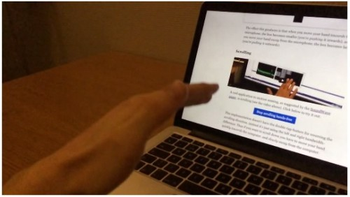 This Webpage Lets You Use Jedi Mind Tricks to Scroll Hands-Free e-Reading Hardware Web Browser